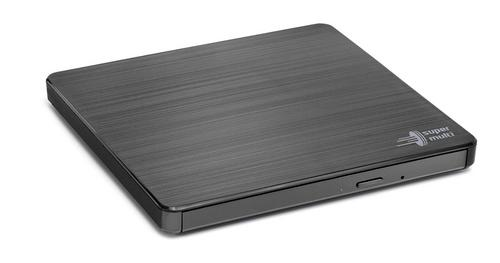 HITACHI LG - externí mechanika DVD-W/CD-RW/DVD±R/±RW/RAM GP60NB60, Slim, Black, box+SW, GP60NB60