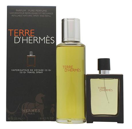 Hermes Terre D` - EDP 30 ml (plnitelná) + náplň 125 ml