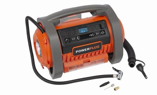 Kompresor Powerplus POWDP7030 20 V + 220 V bez aku