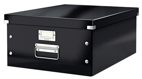 Univerzální krabice Leitz Click&Store, velikost L (A3), černá, 60450095