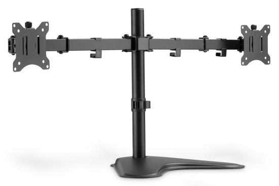 """Digitus Univerální stojan pro dva monitory 15-32 """", 2x 8 kg (max.), Černá"""