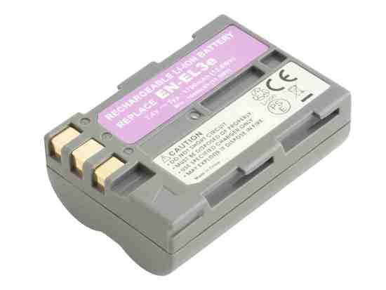 Náhradní baterie AVACOM Nikon EN-EL3E Li-Ion 7.4V 1700mAh 13Wh