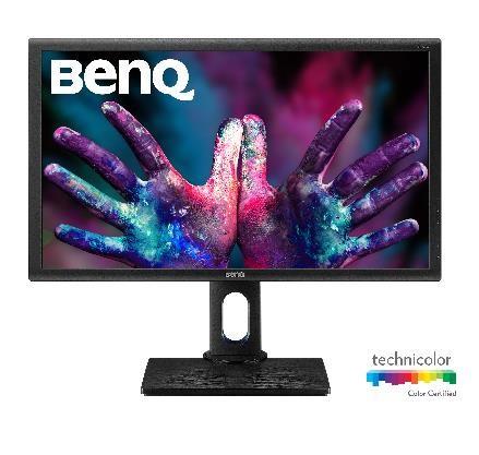 """BenQ LCD PD2705Q 27"""" IPS/2560x1440/10bit/4ms/DP/miniDP/HDMI/USB/Jack/VESA/repro/pivot/100% sRGB/Rec.709, 9H.LJELA.TBE"""