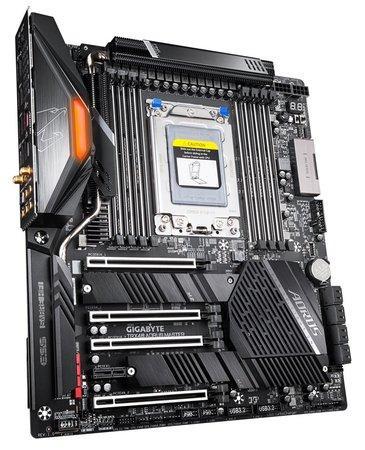 Gigabyte TRX40 AORUS MASTER, TRX40, 8xDDR4 4400,8xSATA 6Gb/s, USB-C, TRX40 AORUS MASTER