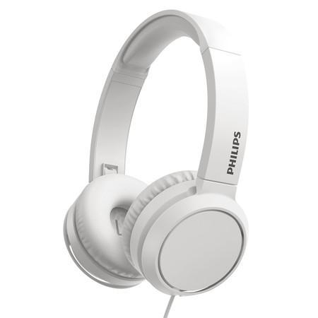 Sluchátka Philips TAH4105WT/00 - bílá