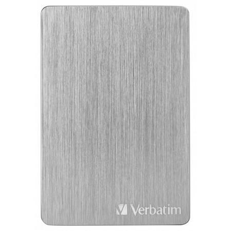"HDD ext. 2,5"" Verbatim Store `n` Go ALU Slim 1TB USB 3.2 - stříbrný"