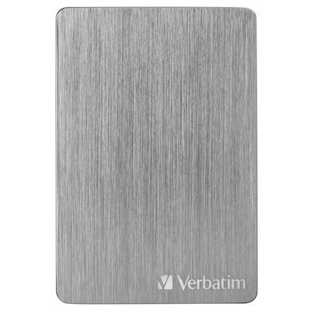 "HDD ext. 2,5"" Verbatim Store `n` Go ALU Slim 2TB USB 3.2 - šedý"