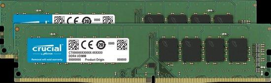 Crucial DDR4 16GB (2x8GB) DIMM 2666MHz CL19