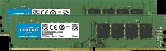 Crucial DDR4 32GB (2x16GB) DIMM 3200MHz CL22