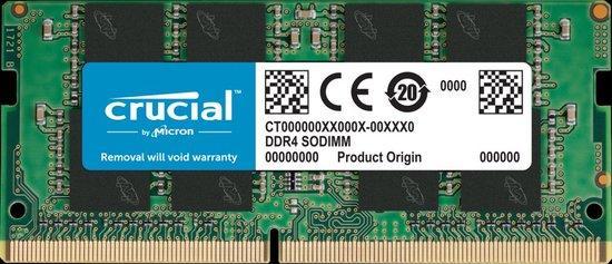 Crucial DDR4 8GB SODIMM 2666MHz CL19, CT8G4SFRA266
