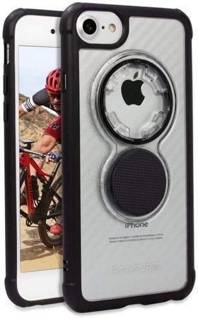 Rokform Kryt na mobil Crystal - Carbon Clear pro iPhone 8 / 7 / 6 and iPhone SE (2nd Gen), čirý