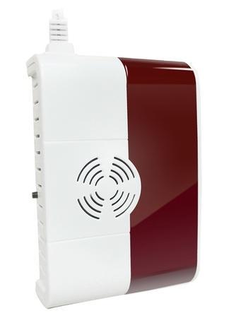 iGET SECURITY P6 - Bezdrátový detektor plynu, vestavěná světelná a zvuková signalizace, pro alarm M2