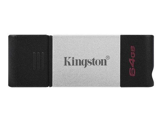KINGSTON 64GB USB-C 3.2 Gen 1 DataTraveler 80, DT80/64GB