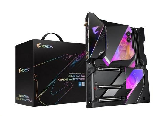 GIGABYTE Z490 AORUS XTREME WF LGA 1200 ATX DDR4 6xSATA 8xUSB 3xM.2 HDMI 2xLAN 2.5/10Gbps MB, Z490 AORUS XTREME WF
