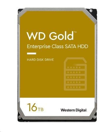 WD GOLD WD161KRYZ 16TB SATA/ 6Gb/s 512MB cache 7200 ot., WD161KRYZ