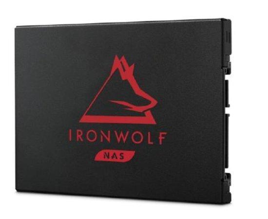Seagate IronWolf 125 SSD (NAS) - 500 GB / SATA 6Gb/s / 7mm BulkPack, ZA500NM1A002