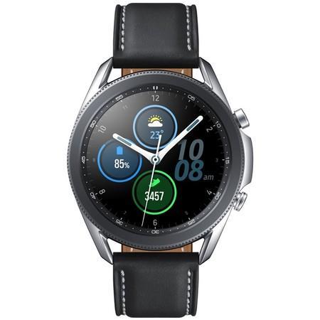 Chytré hodinky Samsung Galaxy Watch3 45mm - stříbrné