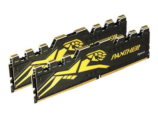 APACER Panther-Golden DDR4 16GB 2x8GB 3200MHz CL16 1.35V, AH4U16G32C08Y7GAA-2