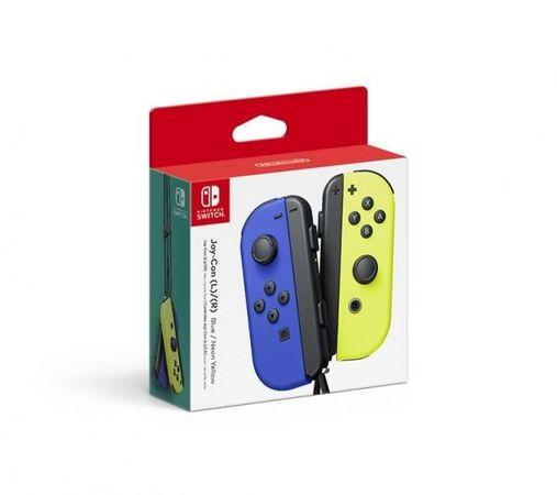 Nintendo Joy-Con Pair Blue/Neon Yellow