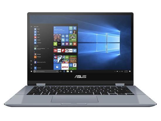 "ASUS Vivobook Flip TP412FA - 14""/Touch/i3-10110U/8GB/256GB SSD/W10 Home in S Mode (G. Blue/Aluminum) - ASUS bezstarostný servis"