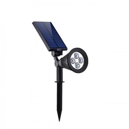 iQtech iPro 4, solární venkovní světlo do země, 4 LED, 1W, senzor, bezdrátové