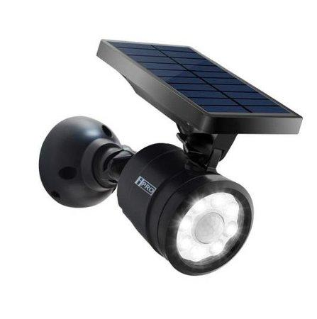 iQtech iPro LEDsolar 8 solární venkovní světlo magnetické, 8 LED, 1,5W, senzor