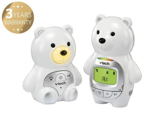 """VTech BM2350, dětská chůvička """"Medvěd"""" s displejem"""
