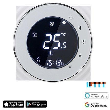 iQtech SmartLife GBLW-W, WiFi termostat pro podlahové vytápění, bílý