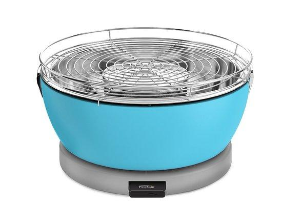 Feuerdesign stolní gril Vesuvio modrý - 14052
