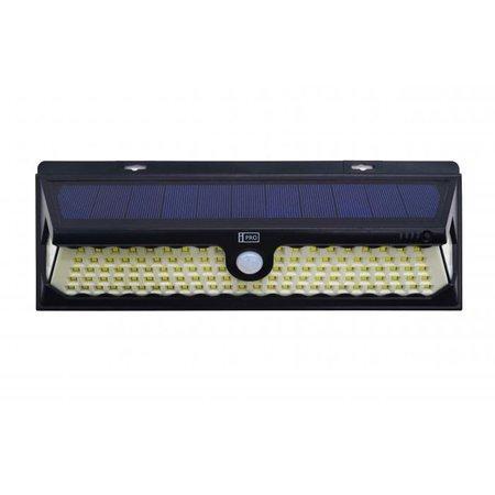 iQtech iPro 120 solární venkovní světlo, 120 LED, senzor, bezdrátové