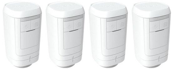 Honeywell Evohome HR914EE, 4x bezdrátová termostatická hlavice HR91