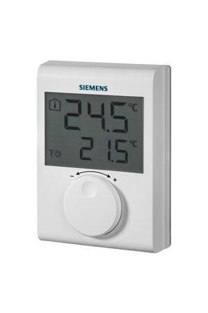Siemens RDH100 Digitální prostorový termostat s kolečkem, drátový