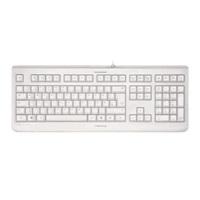 CHERRY klávesnice KC 1068/ drátová/ USB/ IP 68 - odolná proti prachu, voděodolná (do 1 m)/ světlá EU layout, JK-1068EU-0