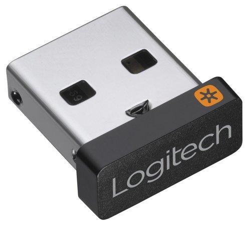 Logitech přijímač USB Unifying Receiver/ 2,4GHz/ až 6 zařízení/ USB, 910-005931