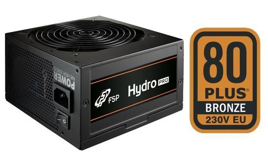 FSP/Fortron HYDRO PRO 500, 80PLUS BRONZE 230V EU, 500W, BULK, 9PA500C501