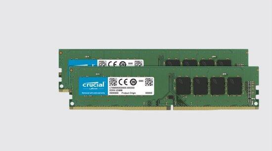 Crucial DDR4 64GB (2x32GB) DIMM 3200MHz CL22