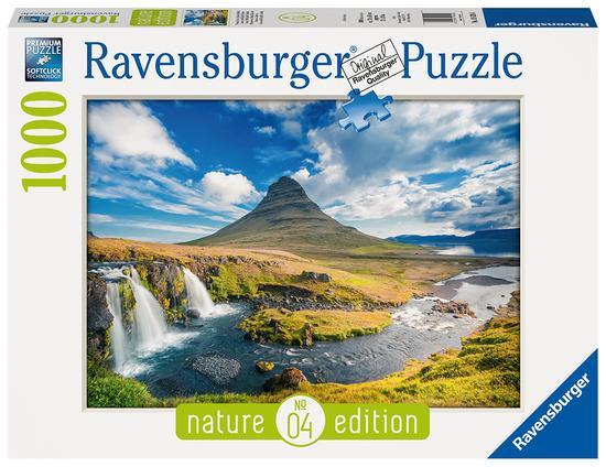 RAVENSBURGER Puzzle Vodopád Kirkjufell 1000 dílků