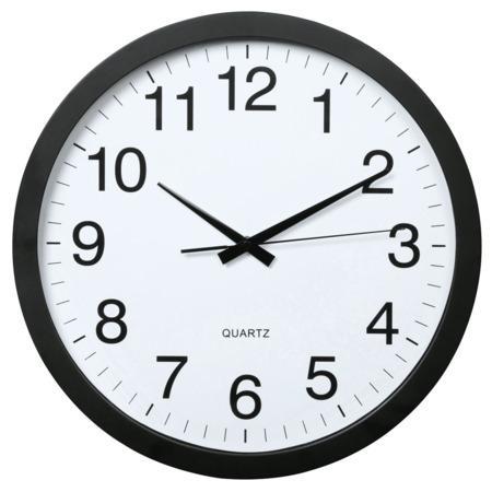 Hama PG-400 Jumbo, nástěnné hodiny, průměr 40 cm, tichý chod