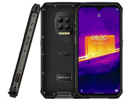 UleFone Armor 9 Dual SIM 8GB/128GB černý