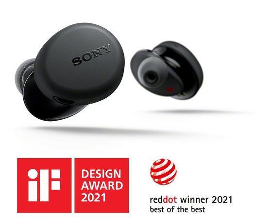 Sony WF-XB700 TWS sluchátka černá