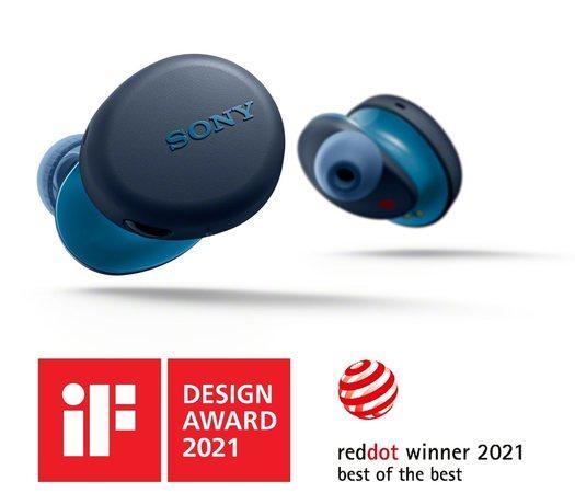 Sony WF-XB700 TWS sluchátka modrá