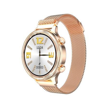Chytré hodinky Carneo Gear+ Deluxe - zlaté