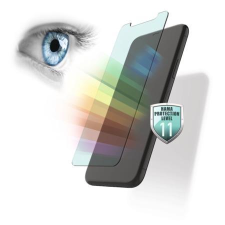 Hama Anti-Bluelight, sklo na displej pro Samsung Galaxy A30s/A50, s filtrací modrého světla z disple