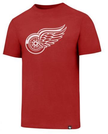 Triko 47 Brand Splitter Tee NHL SR, šedá, Senior, Detroit Red Wings, S