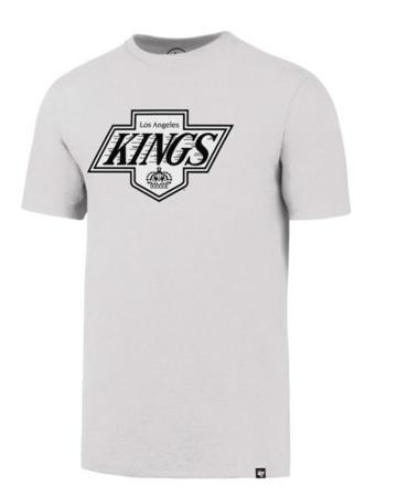 Triko 47 Brand Splitter Tee NHL SR, bílá, Senior, Los Angeles Kings, S
