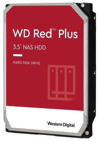 "WD RED PLUS 2TB / WD20EFRX / SATA 6Gb/s / Interní 3,5""/ 5400rpm / 64MB, WD20EFRX"