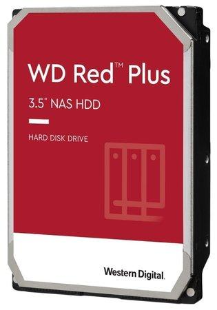 """WD RED PLUS 4TB / WD40EFRX / SATA 6Gb/s / Interní 3,5""""/ 5400rpm / 64MB, WD40EFRX"""