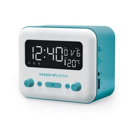 ENERGY Clock Speaker 2 Bluetooth Sky, All-in-one radiobudík se dvěma alarmy, FM rádiem a výstupem na sluchátka, BT