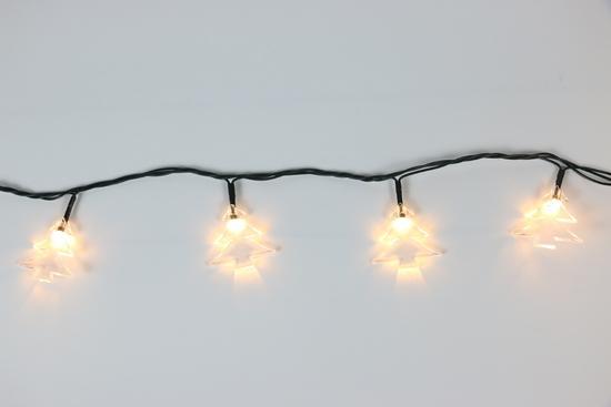 Řetěz Stromečky Čirá 40 LED