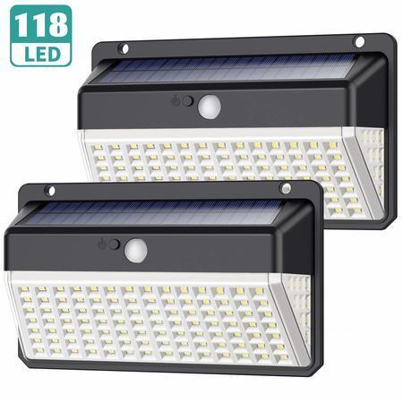 Venkovní solární LED světlo s pohybovým senzorem D118